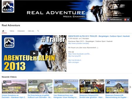YouTube-Kanal Real Adventure